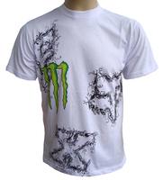 Fox t-shirt motorcycle t-shirt automobile race t-shirt