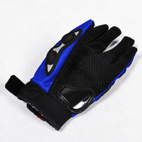 Motorcycle Riding Sport Mesh Hand Glove Protective Cavalier Full Finger XL Bike [P239]