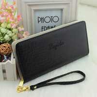 1pcs/lot Promotion New Brand Long Lady Design Wallets Fashion Genuine Leather Wallet Women Leather Handbags Purse Free Shipping