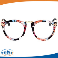 2014 new arrival cat eye Prescription Glasses Oculos de grau leopard print eyeglasses Women Optical Glasses14ww19