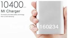 TOP Quailty !Lithium-ion Batteries Xiaomi External Portable Power Bank 10400mAh For iPhone/iPhone/Samsung Smartphone Xiaomi htc