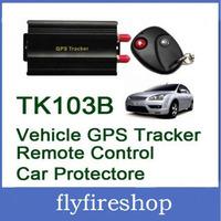 Vehicle/Car GPS tracker+Remote Control GPS103B Car Alarm Quad-band SD card slot PC&website GPS tracking system