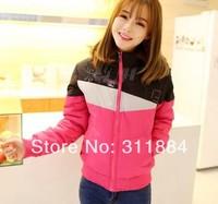 Winter brand coats & jackets women sports leisure hooded down & parkas sports coat fashion coat cotton-padded jacket