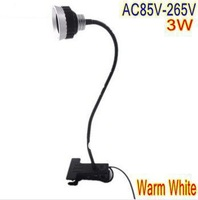 Free shipping Warm White Color High quality 3W reading lamp desk light black body table lamp LD58