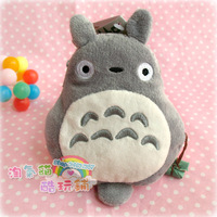 Totoro totoro plush doll retractable card holder traffic card case coin purse
