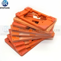 8pcs/Lot, LCD screen mould molds for iPhone 5 (5S 5C) /4s Galaxy S4 i9500,Note2 N7100,S3 i9300,S3 mini i8190,N7000 i9220,HTC ONE