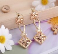 In 2014 the new style earrings earrings stars zircon eardrop/stud earring