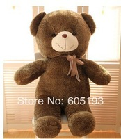 0043Free Shipping Teddy bear plush toy dolls 160CM long  babybear birthday gift the cute big Couple bear gifts, wholesale