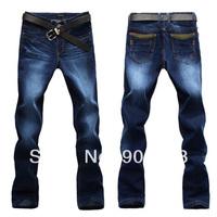2014 fashion brand designer men's denim jeans pants 8875# jiumeiwang