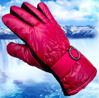 Ski Electric Heated Gloves Outdoor Sport inter Ski Sport Waterproof Gloves Warm Riding Gloves Snowboard Free Shipping