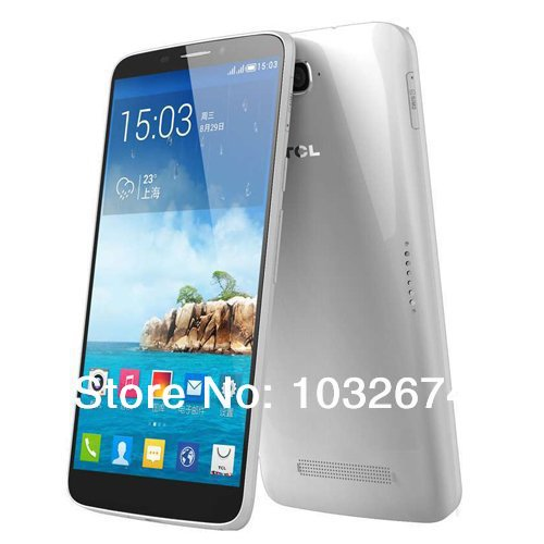 Free shipping Alcatel Hero TCL N3 Y910 3G smart phone 6 inch LTPS IPS MTK6589T Quad Core 1.5GHz 2GB RAM 16GB 13.0MP Camera GPS(China (Mainland))