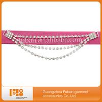 wholesale alloy crystal rhinestone connector for bikini,free shipping