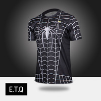 2014 NEW  black t-shirt o-neck short-sleeve T-shirt black t-shirt male personality short-sleeve men's clothing