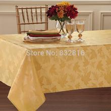 wholesale gold table linen