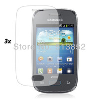 3pcs/package LCD Screen Protector for Samsung Galaxy Pocket Neo / S5310 include 3pcs cleaning cloths