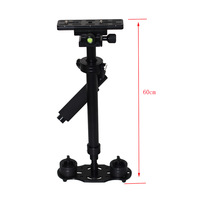 New Arrival S-60 0.6M 60CM Aluminum Stabilizer for Steadicam Camera Video DV DSLR Canon Camcorders DSLR cameras DVs S60