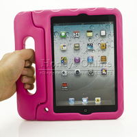 Children Safe Shockproof Case for ipad Mini,Soft Handle Stand New EVA Back Tablet Cover a Touch Pen for Gift 1pcs Free Shipping