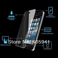 100pcs Thickness  Tempered Glass Protection film Screen With Retail Box For Apple iPhone 4 4S Free shipping