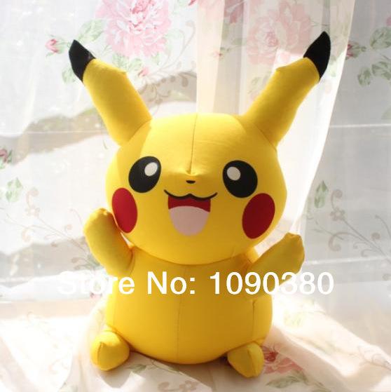 40CM Cute Anime Pokemon Baby Toy Kawaii Dolls For Girls Classic Anime Magic Toys Adventure Time(China (Mainland))