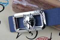 Hot selling ! 2014 Male fashion casual smooth buckle leather belt