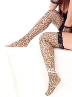 2014 Womens Sexy Women Lingeries Lace Chemise Leopard Animal Print Ladies Erotic Underwear 6 Piece Set