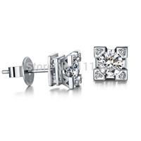 Italina Rigant white zircon Eiffel Tower  jewelry  Earrings/fashion Eiffer jewelry
