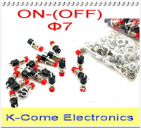 NC Normally Close Cut Circuit Mini Momentary Spring Return Push Button Switches 2Pin 6 Color Optional