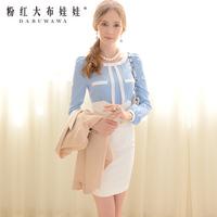 Lovable Secret - Slim hip skirt spring 2014 women's half-skirt elegant high waist skirt medium bust skirt  free shipping