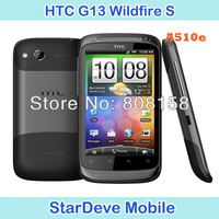 Original HTC G13 A510e Wildfire S Unlocked Mobile Phone Android Phones 3G Quad-Band GPS WIFI Free shipping