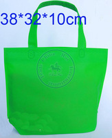 80grams bright non woven bags shopping handbag for clothes sales promotion gift etc Multi color option Wholesale