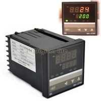 4PCS/LOT PID Digital Temperature Control Controller Thermocouple 0 to 400 Degree  REX-C700 Relay Output TK0455