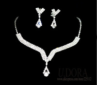2014 New Full Crystals Indian Bridal Wedding Jewelry Sets