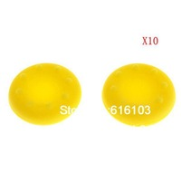 Non Slip Rubber Handle Joystick Cap For PS4 PS3 XBOX360 Yellow