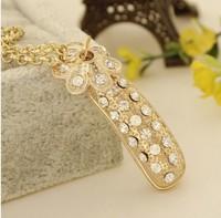 2014 New style Free Shipping Fashion Necklace Korean style long necklace big size Acrylic Wholesale  mix order
