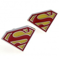 Superman Cufflink 3 Pairs Wholesale Free Shipping Promotion