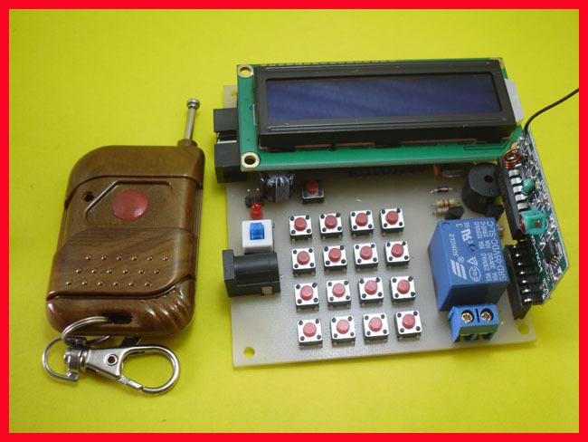 51 single electronic locks production suite / remote control lock / graduate design course design kit(China (Mainland))