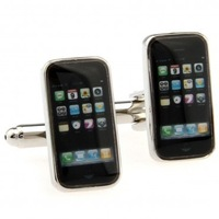 Phone Cufflink 3 Pairs Wholesale Free Shipping Promotion