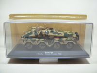 Ixo altaya Camouflage wheel mortarmen armored vehicle model bag