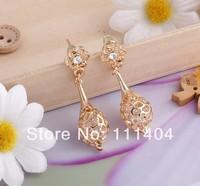 2014 the new style fashion Wedding earrings elegant princess jewelry