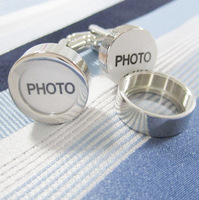 Photo Cufflink 3 Pairs Wholesale Free Shipping Promotion