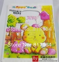 18*23CM free shipping printed gift shopping plastic bags