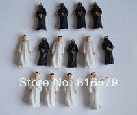 50pc Wholesale - 1:30 scale arab  figure  6cm