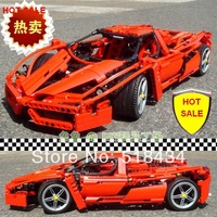 High quality!Bela Enzo1:10 Car Model9186 Building Block Sets 1359pcs Educational Jigsaw DIY Construction Bricks toy for children
