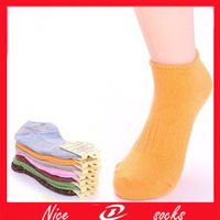 16PCS=8pairs Cotton needle thick thread color national wind woman women boat socks socks  wholesale
