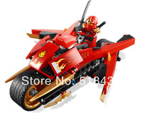High quality!Bela Ninja Ninjago Kay ZX Motorcycle 9754 Building Block Sets 187pcs Educational Jigsaw Construction Bricks toys