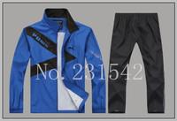 Free shipping 2014 men sport suit sportwear casual jacket and pants man sprots set men cool cardigan casual sets L-4XL plus size