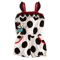 New Dots Cotton blend strap Mickey cartoon girl romper Infant Romper baby jumpsuit Bodysuit Infantil Macacao ropa bebe