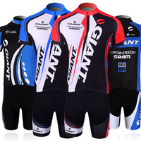 GIANT explosion models short-sleeved jersey suit male and female clothing bike jersey