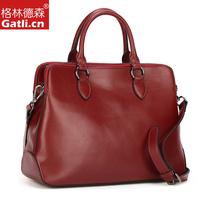 2014 new Genuine leather female bags fashion cowhide women's portable laptop bag briefcase bag espionage bag