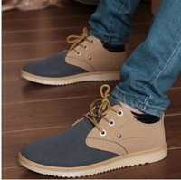 Hot! 2014 New autumn men's casual shoes men's lazy bones shoes daily fashion sneakers man shoes